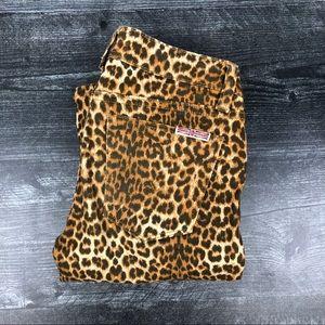 Hudson Cheetah skinny jeans